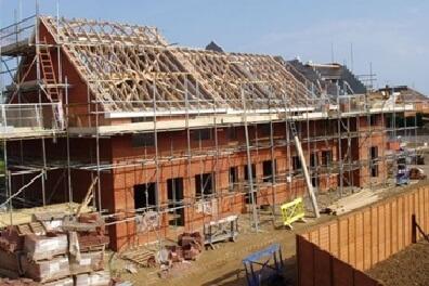 new-build property still under construction