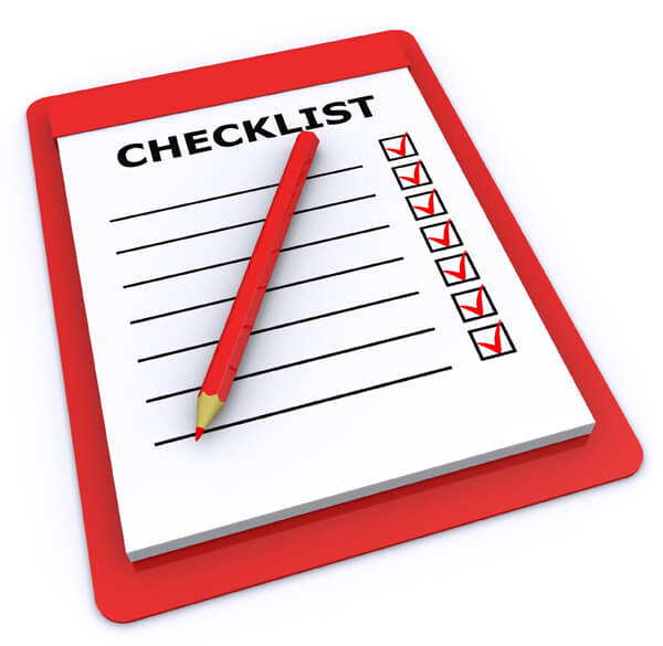 changing managing agents checklist